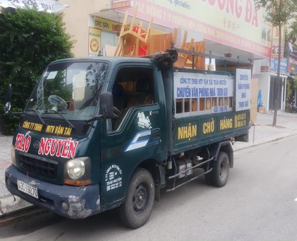xe tải chở hàng Thảo Nguyên