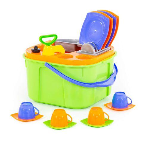 Bộ đồ chơi nấu ăn mini cho bé tập rửa bát
