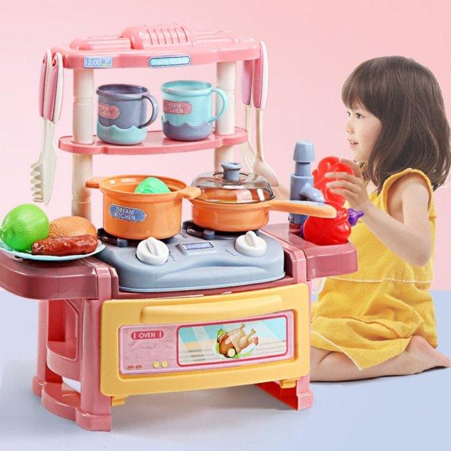Đồ Chơi Thông Minh Trẻ Em Dụng Cụ Nhà Bếp