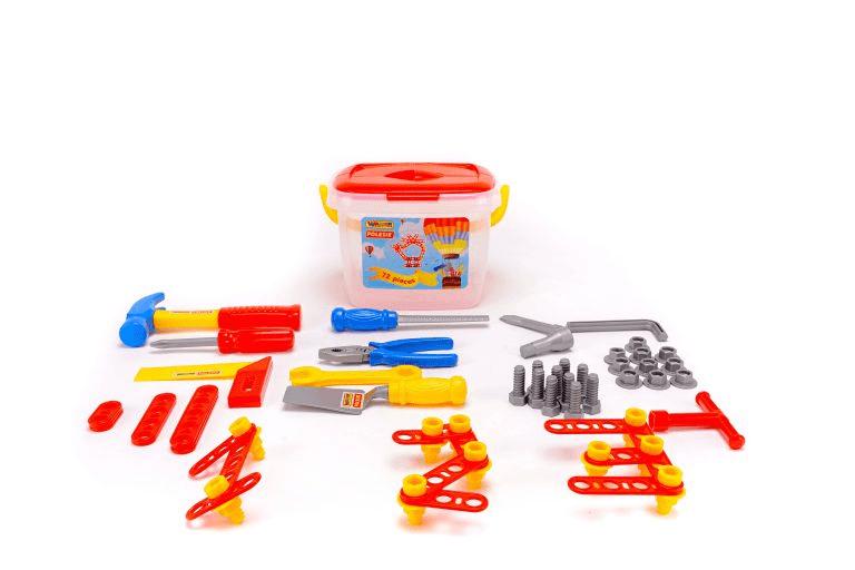 Bộ đồ chơi dụng cụ kỹ thuật 74 chi tiết