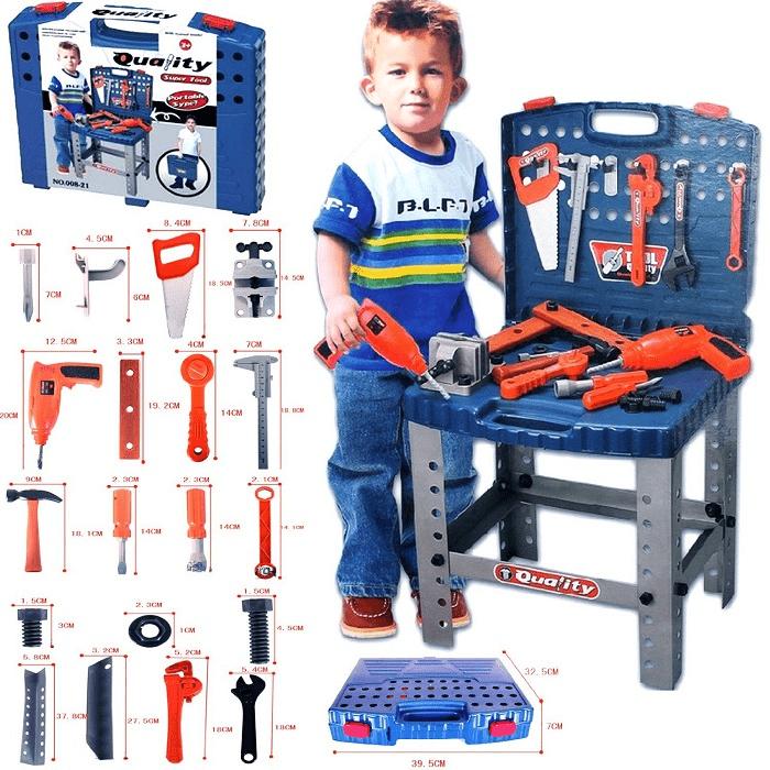 Bộ đồ chơi hướng nghiệp dụng cụ sửa chữa cho bé