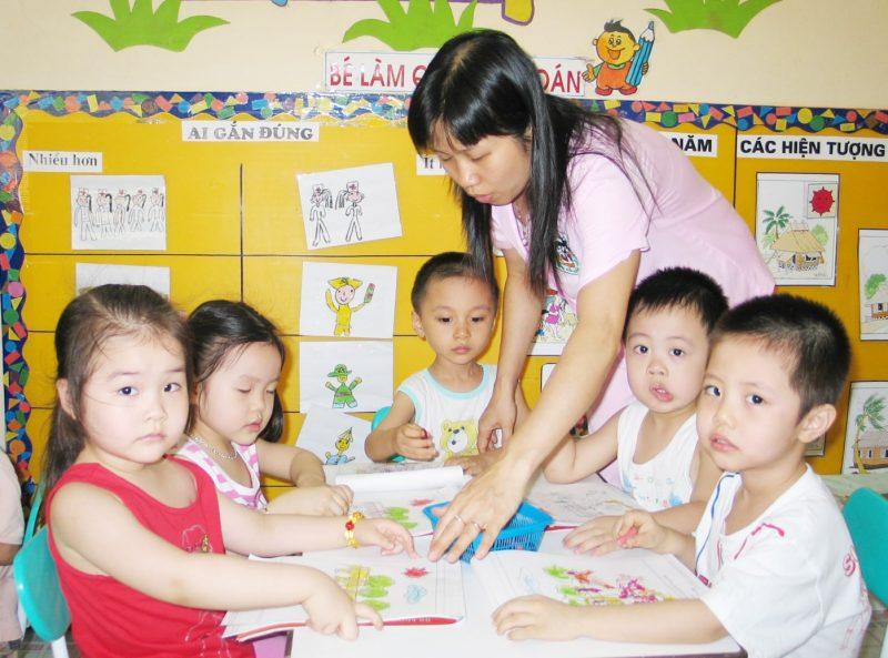 Trường Mầm Non Tài Năng Nhí